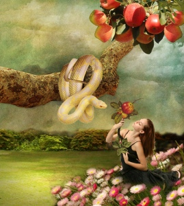 eve and snake